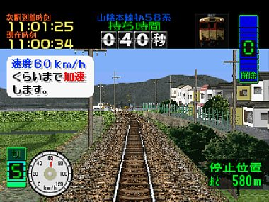 It may not look like much, but Densha De GO! is both intriguing and hard as hell!
